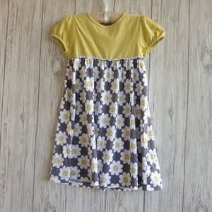Mini Boden Floral Print  Dress Size 5-6